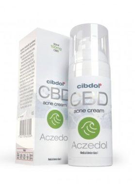 Crème Au CBD acné