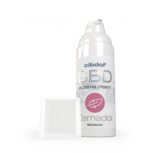 Crème Au CBD eczema